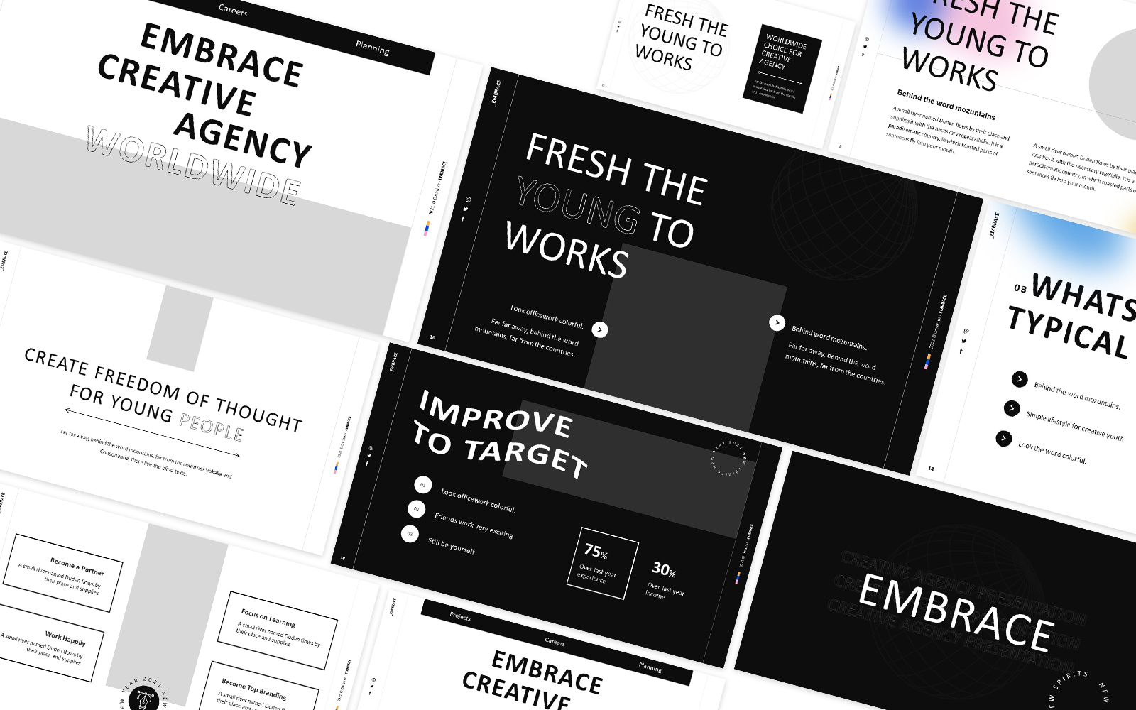 Embrace Powerpoint Template