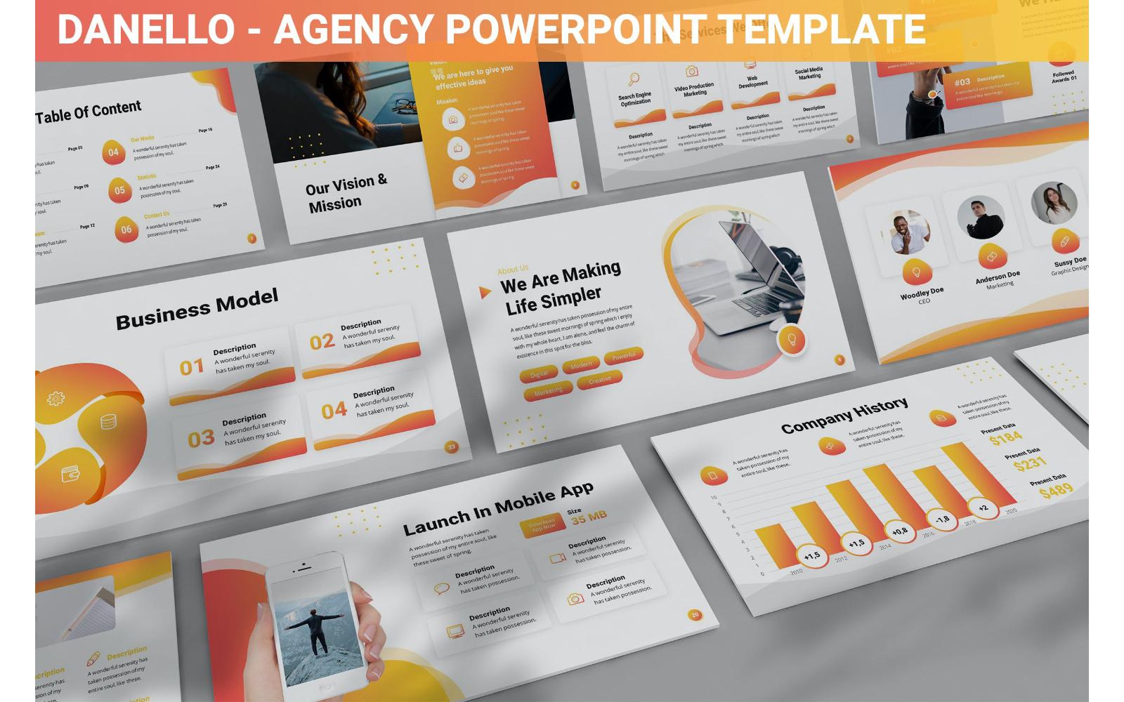 Danello - Agency Powerpoint Template