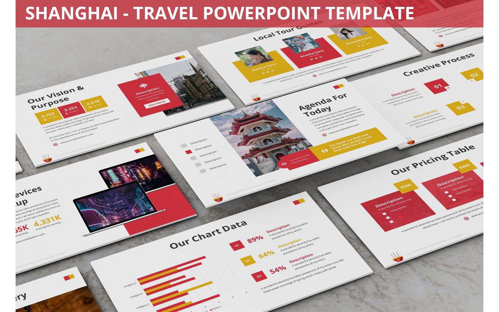 Shanghai - Travel Powerpoint Template