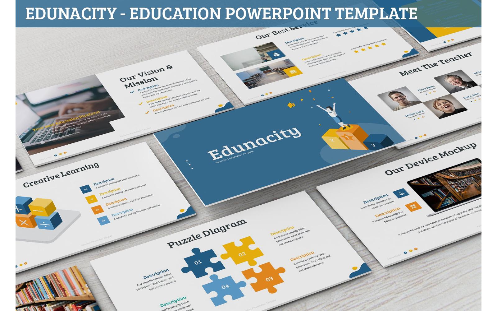 Edunacity - Education Powerpoint Template