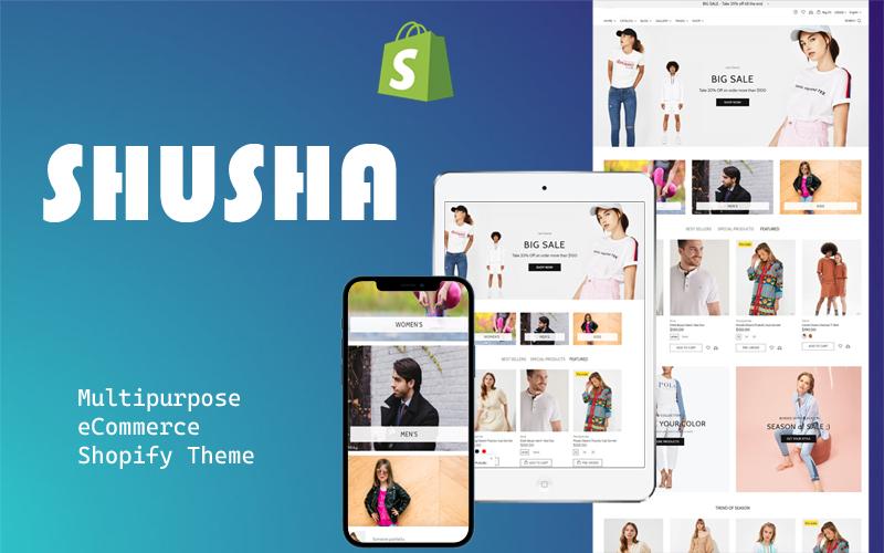 Shusha - Multipurpose Shopify theme