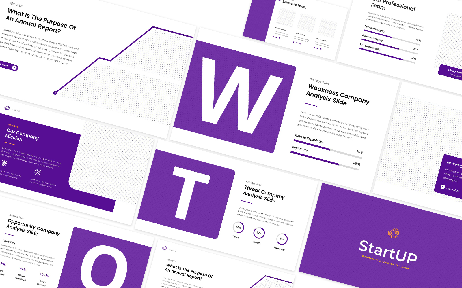 Startup Company Powerpoint Template