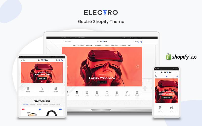 Electro- The Electronics & Gadgets Premium Shopify Theme