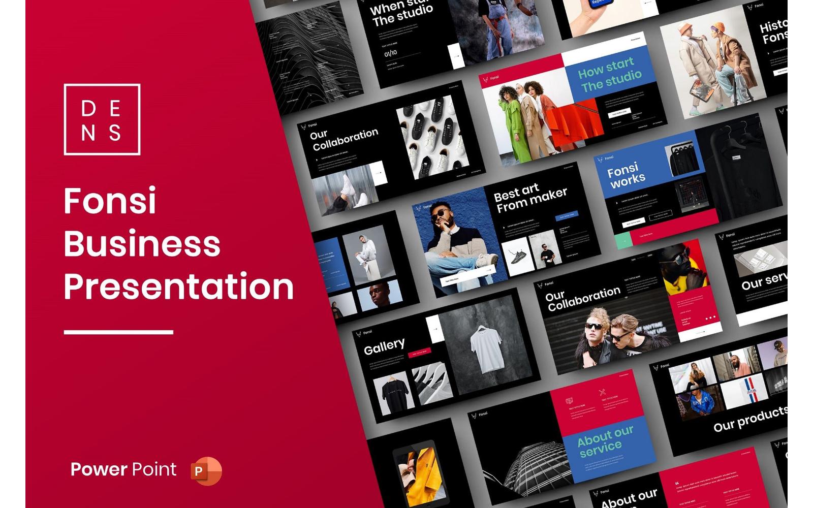 Fonsi – Business PowerPoint Template