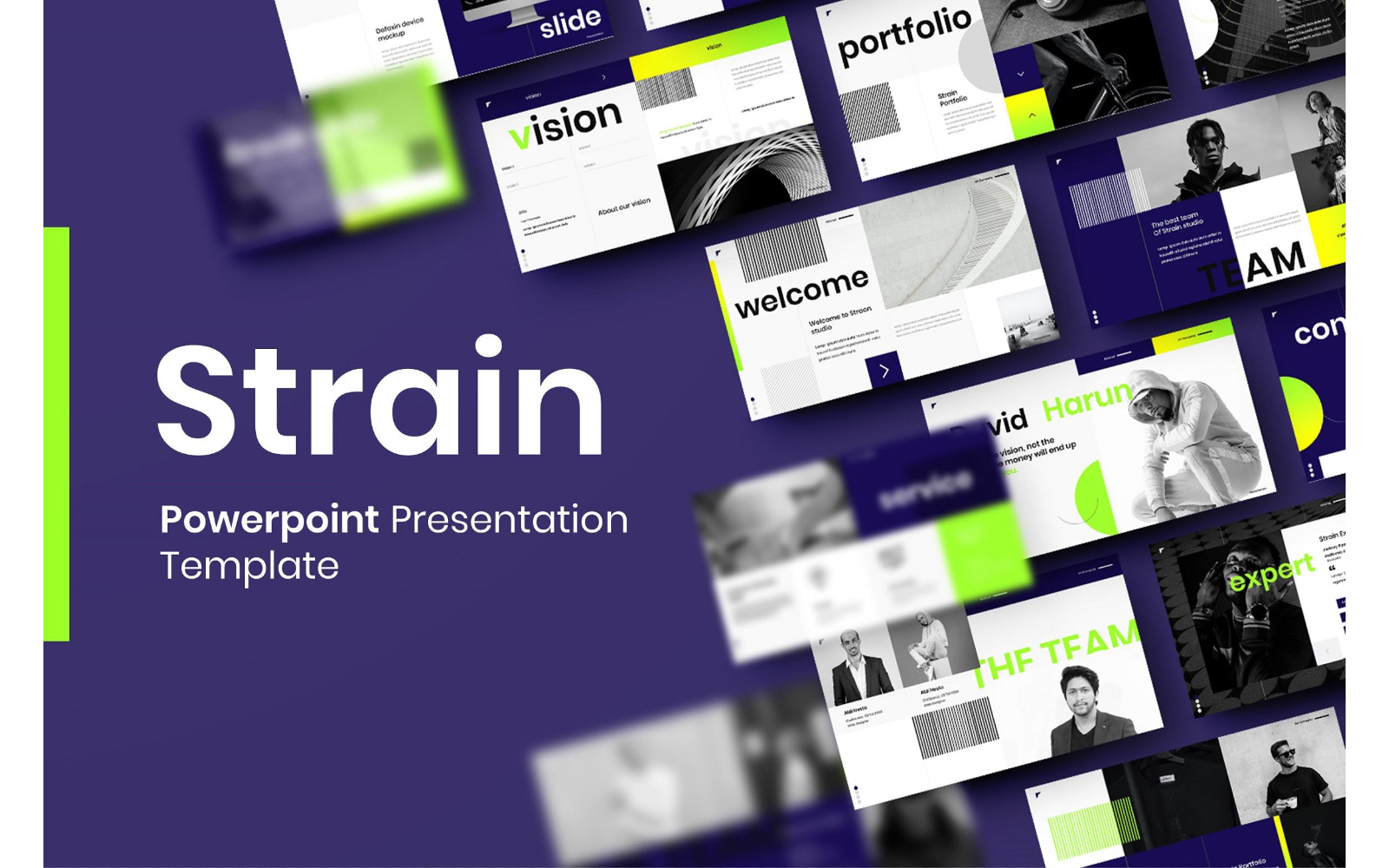 Strain – Business PowerPoint Template