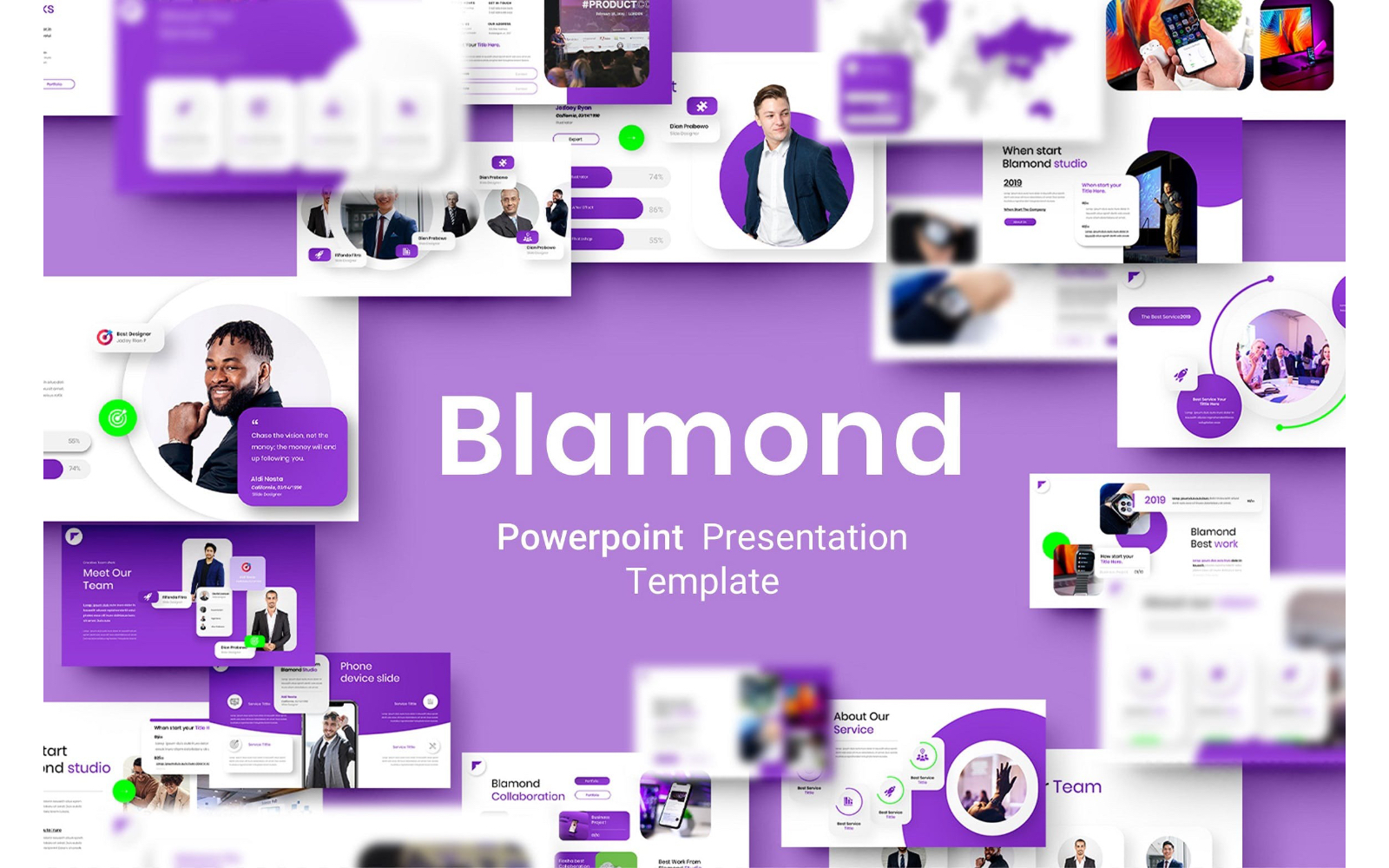 Blamond – Business PowerPoint Template