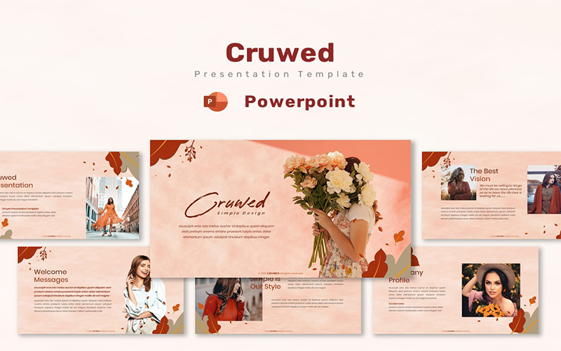 Cruwed - Powerpoint Template