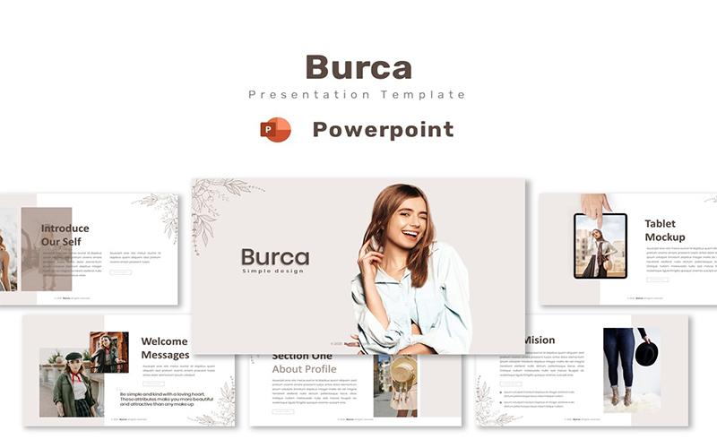 Burca - Powerpoint Template