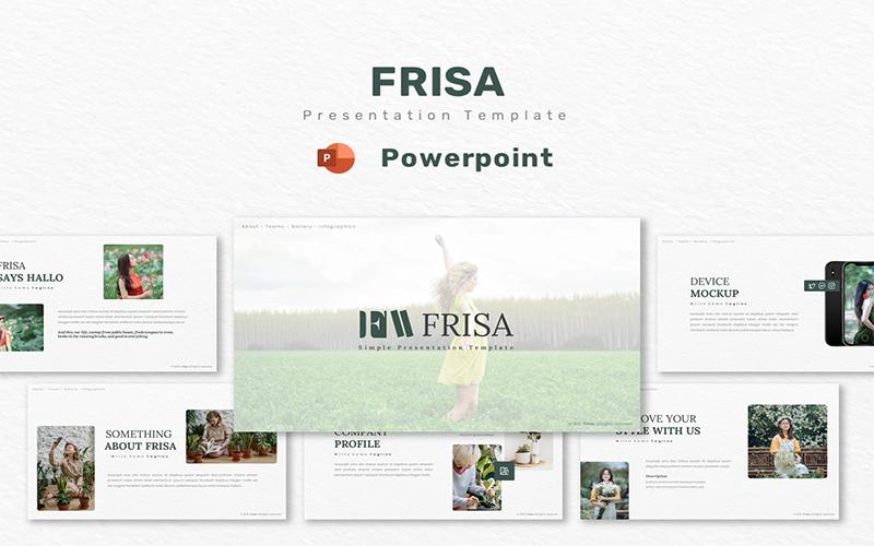 Frissa - Powerpoint Template