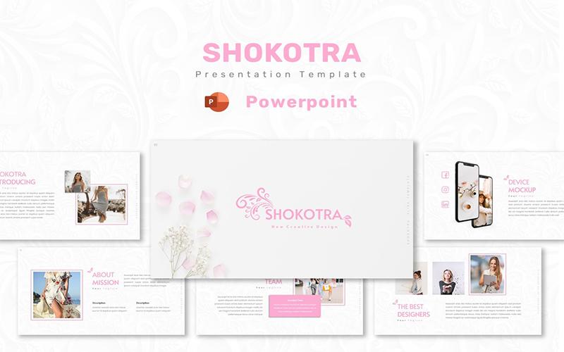 Shokotra - Powerpoint Template