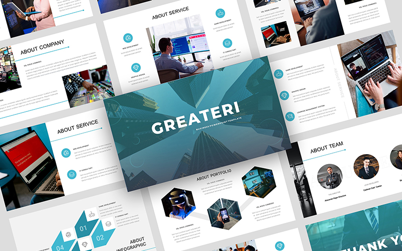 Greateri – Business PowerPoint Template