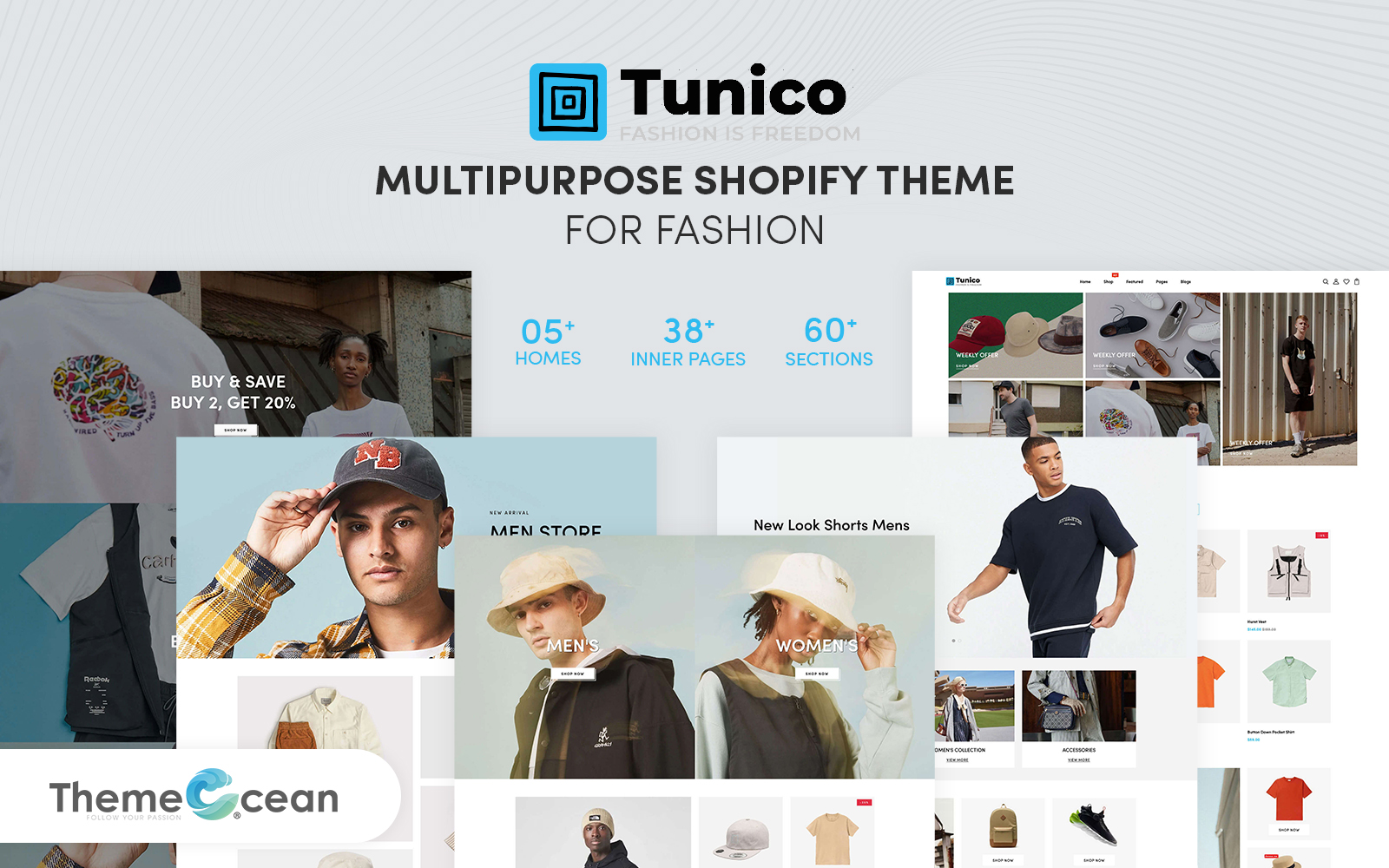 Tunico - Multipurpose Shopify Theme for Fashion