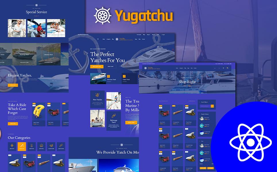 Yugatchu Yacht Charter React JS Template