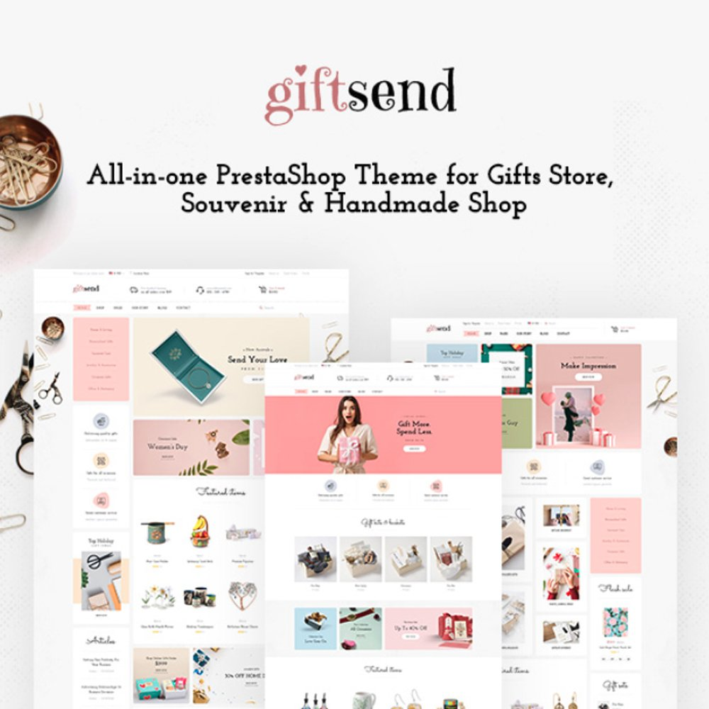 TM Giftsend - Gifts and Souvenirs Prestashop Theme