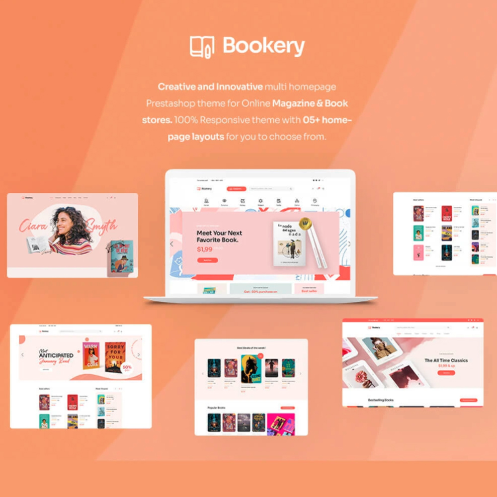TM Bookery – Online Book Store Prestashop Theme