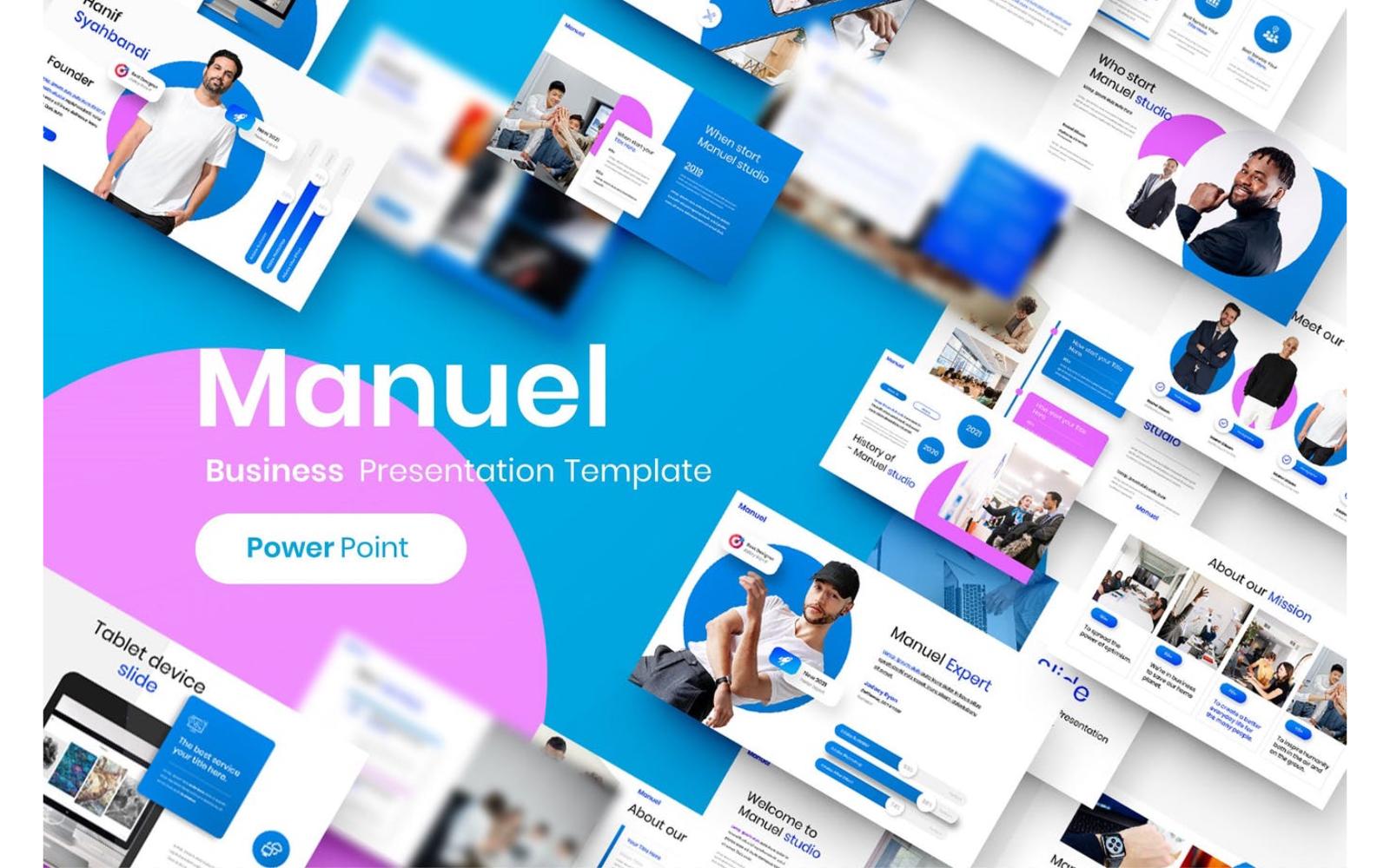 Manuel – Business PowerPoint Template