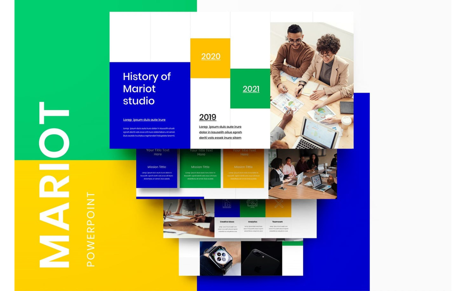 Mariot – Business PowerPoint Template