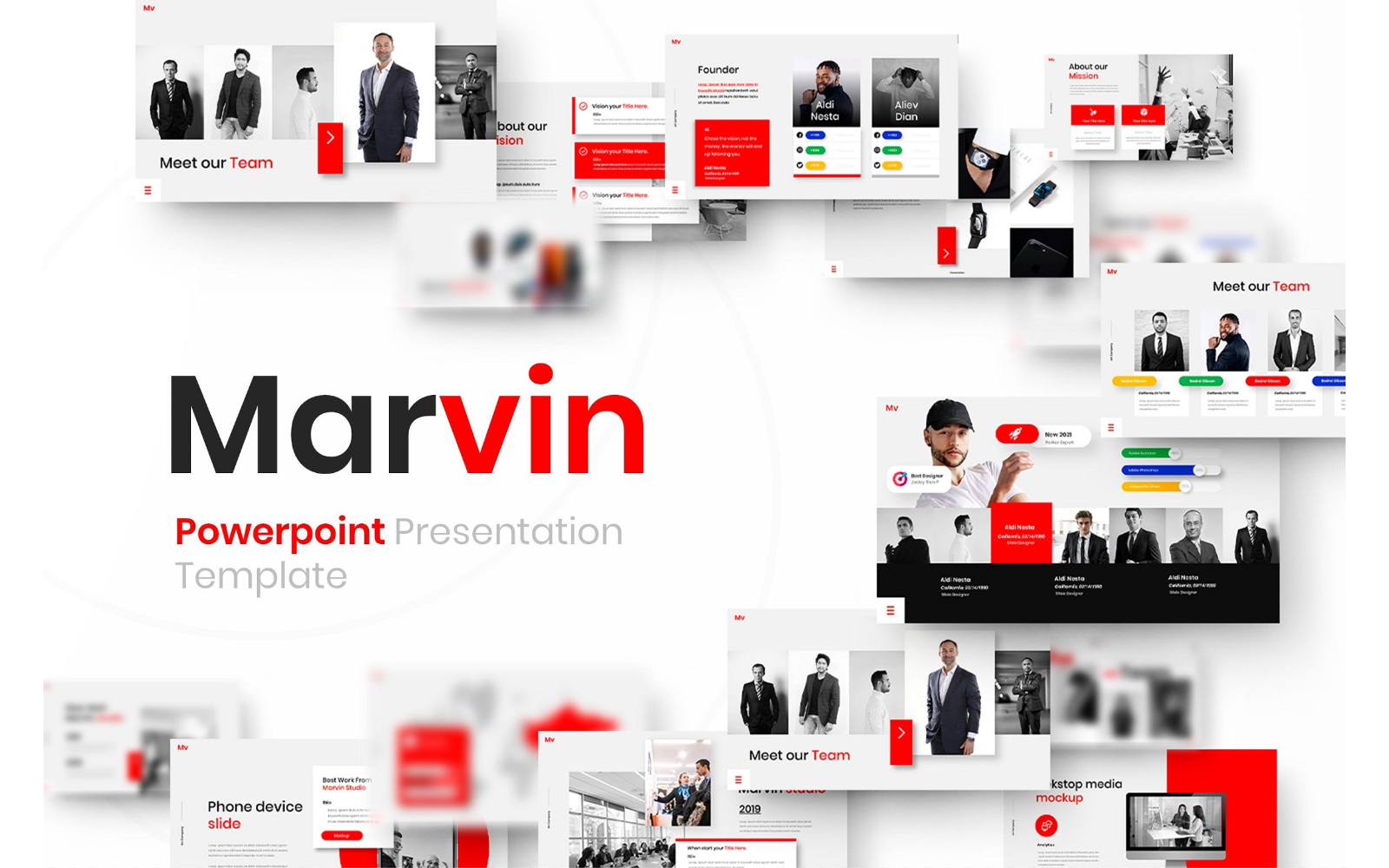 Marvin – Business PowerPoint Template
