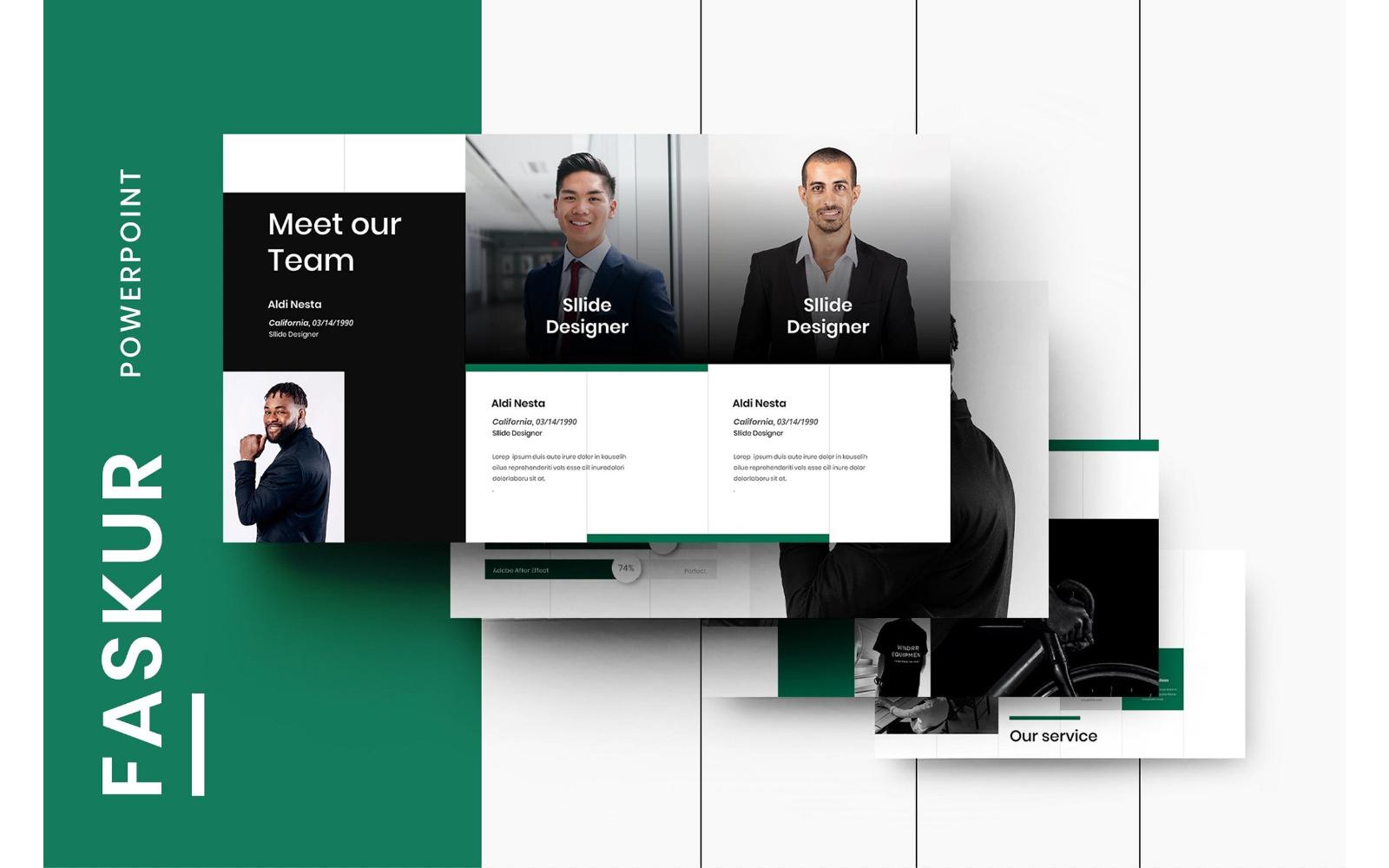 Faskur – Business PowerPoint Template