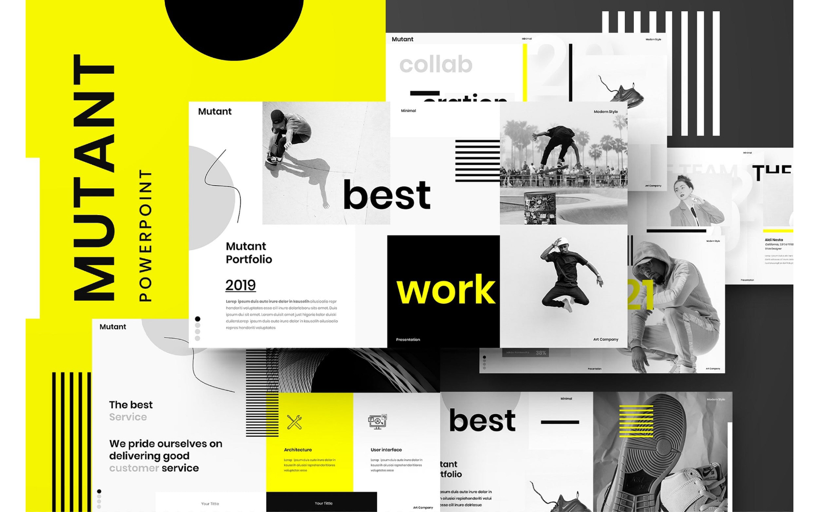 Mutant – Business PowerPoint Template