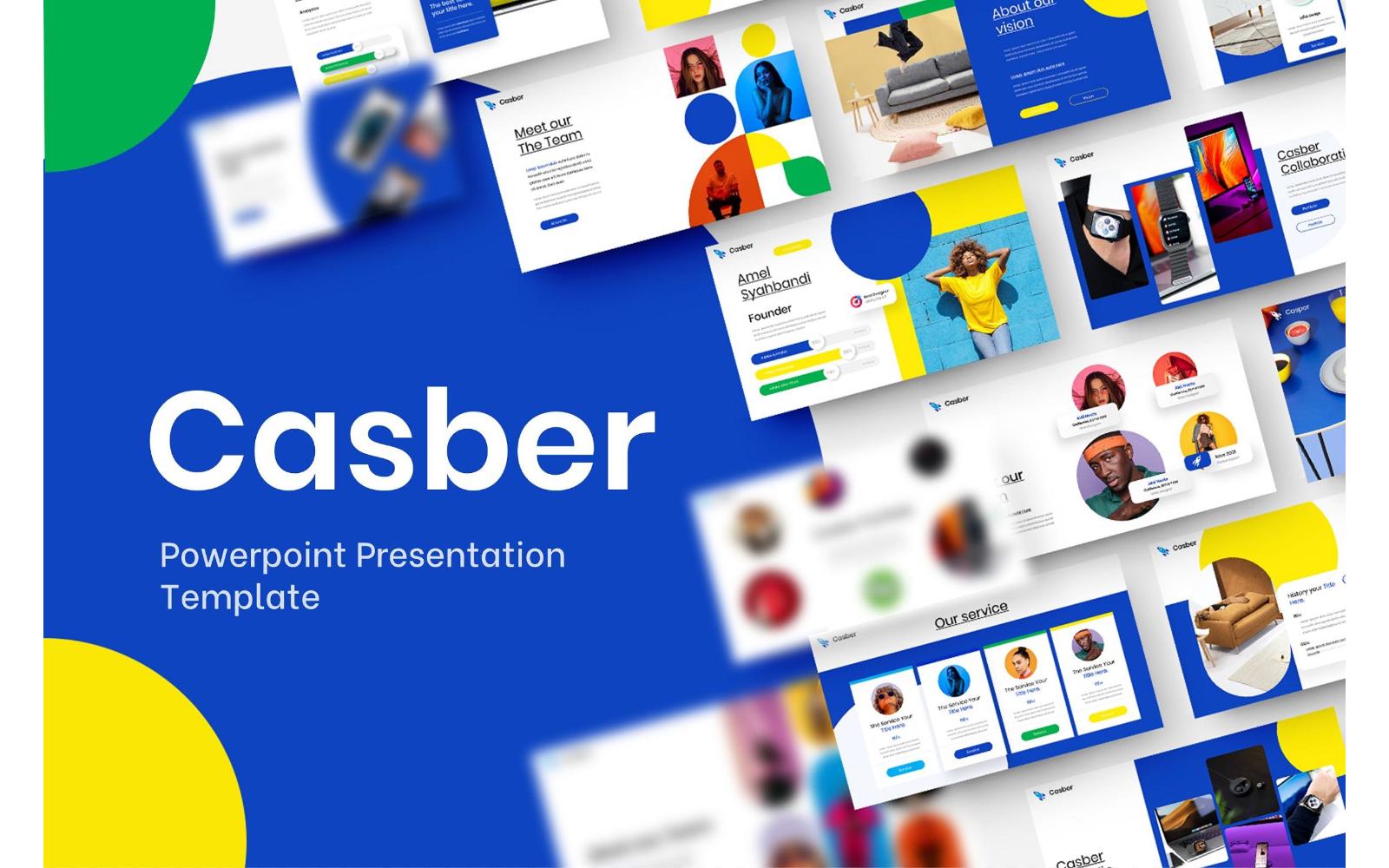 Casper – Business PowerPoint Template
