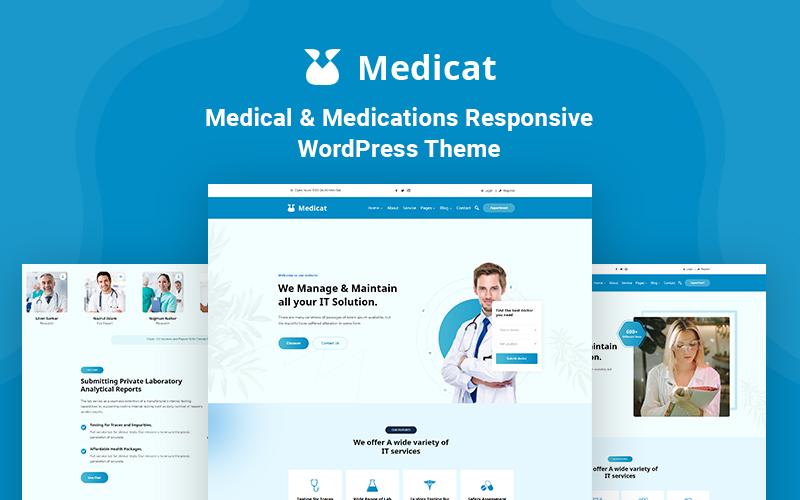 Medicat - Medical & Medications Responsive WordPress Theme