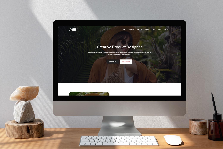 Shuvo - Artist portfolio Responsive Landing Page Template