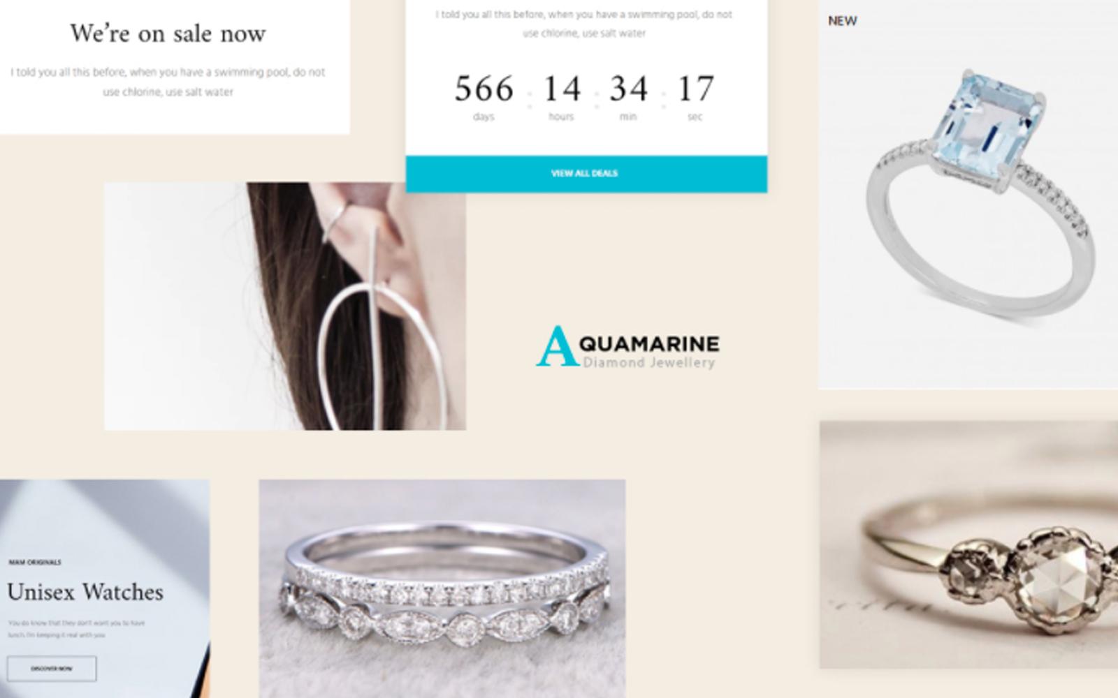TM  Aquamarine - Jewelry Store PrestaShop Theme