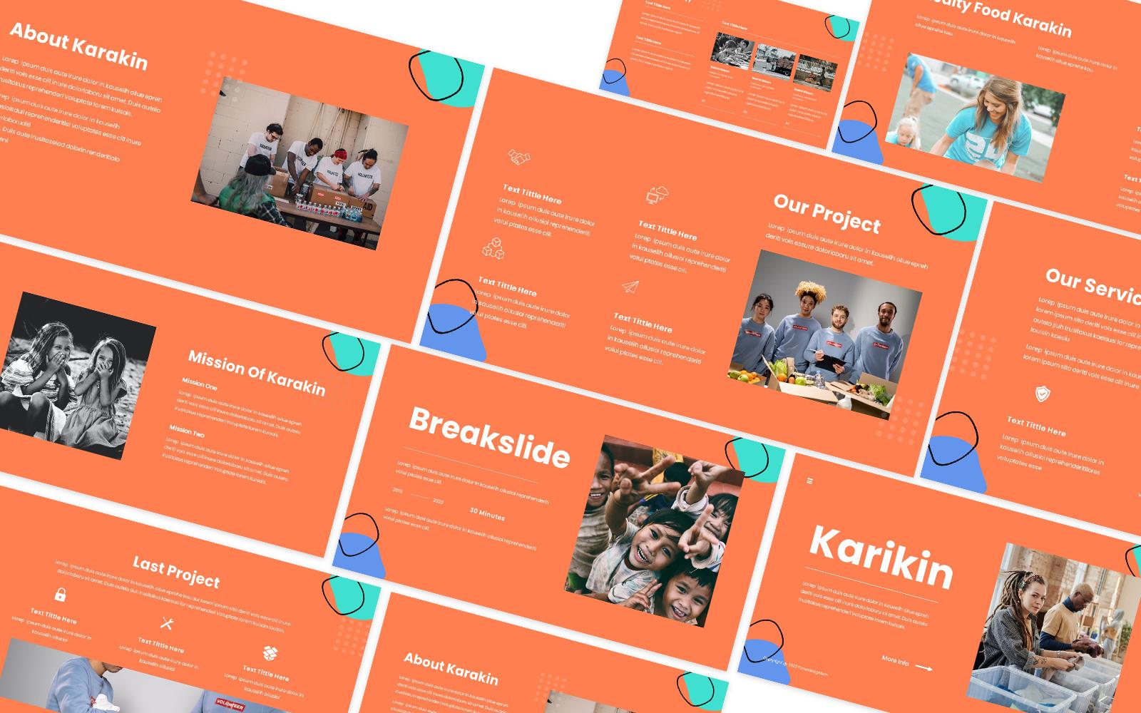 Karikin Charity Powerpoint Template