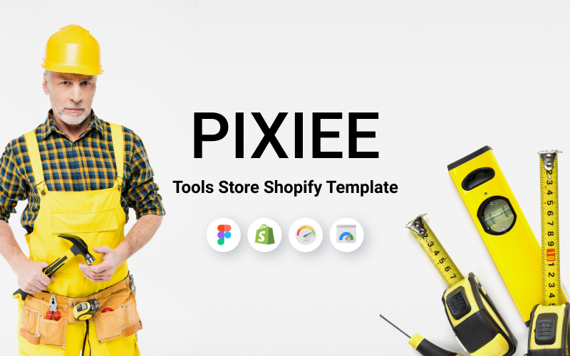 Pixee - Responsive Construction and Tools Store Shopify Theme