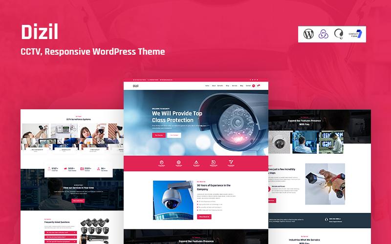 Dizil - CCTV Responsive WordPress Theme