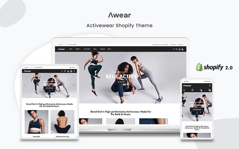 Awear- The Nightwear Premium Shopify Theme