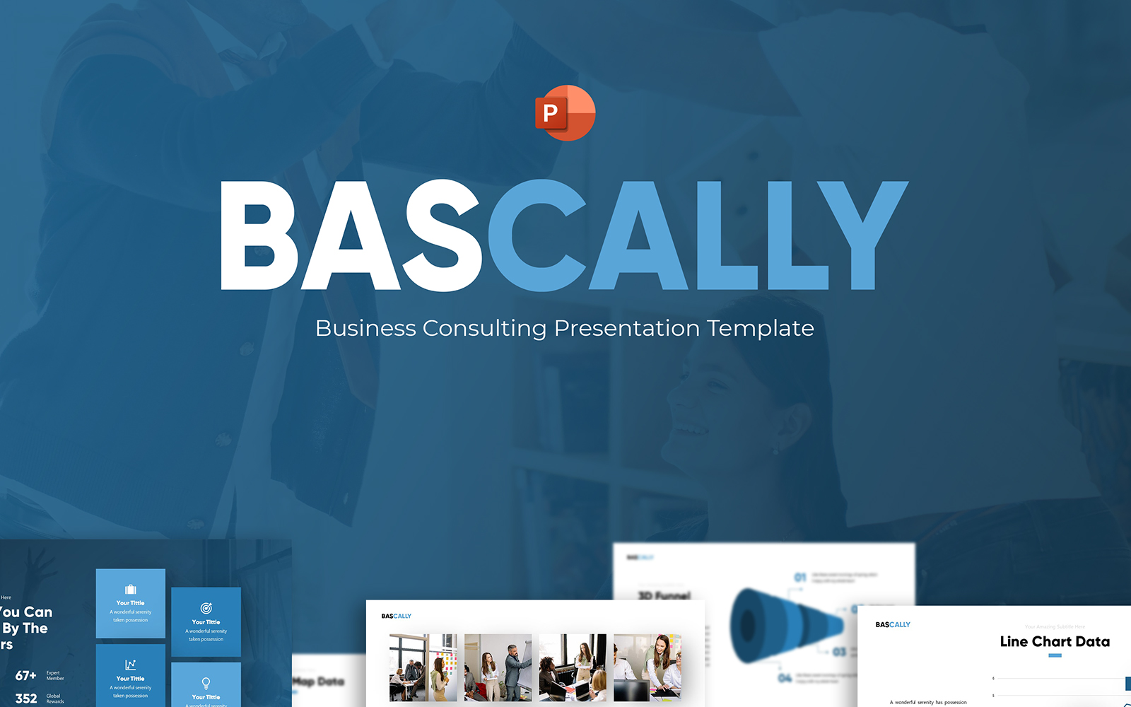 Bascally - Business Consulting PowerPoint Template