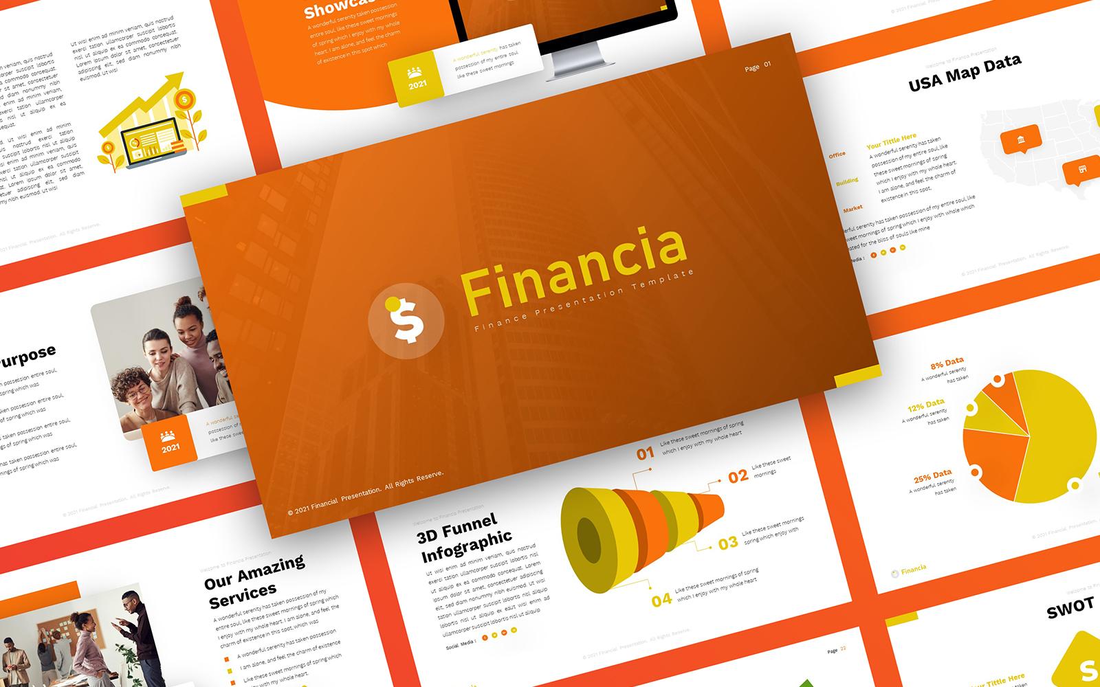 Financia - Finance PowerPoint Template