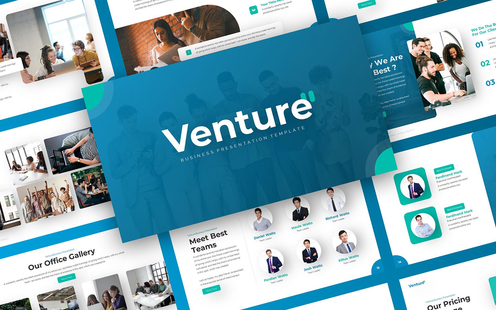Venture - Business PowerPoint Template