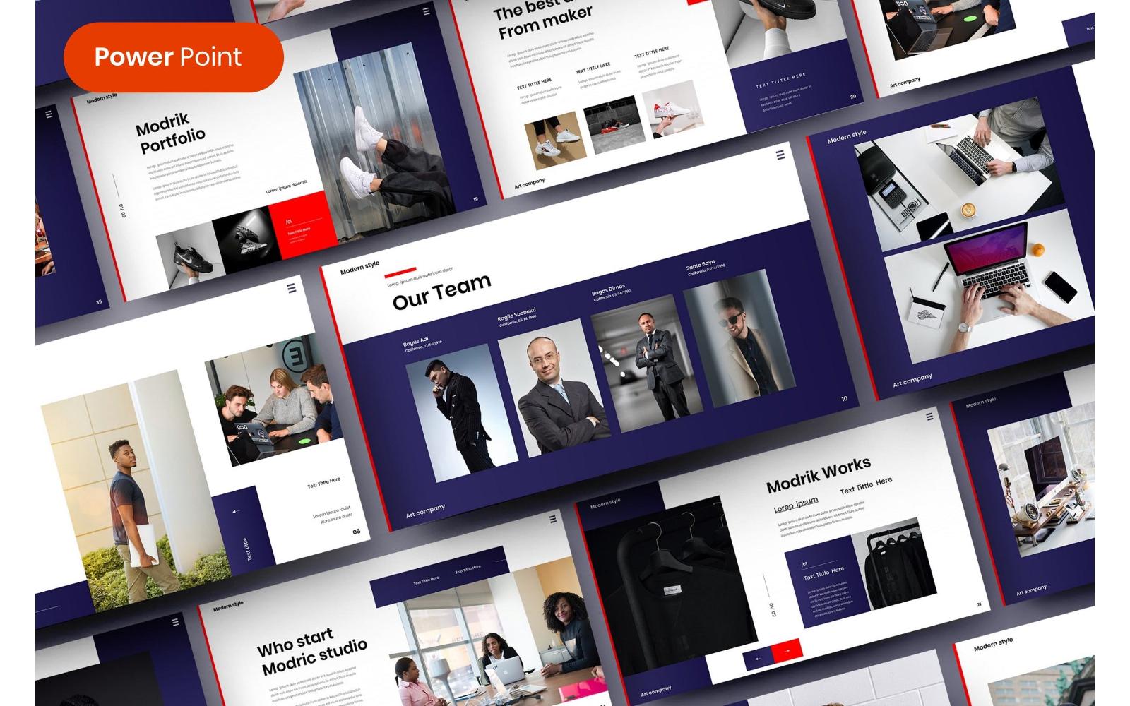 Modrik – Business PowerPoint Template