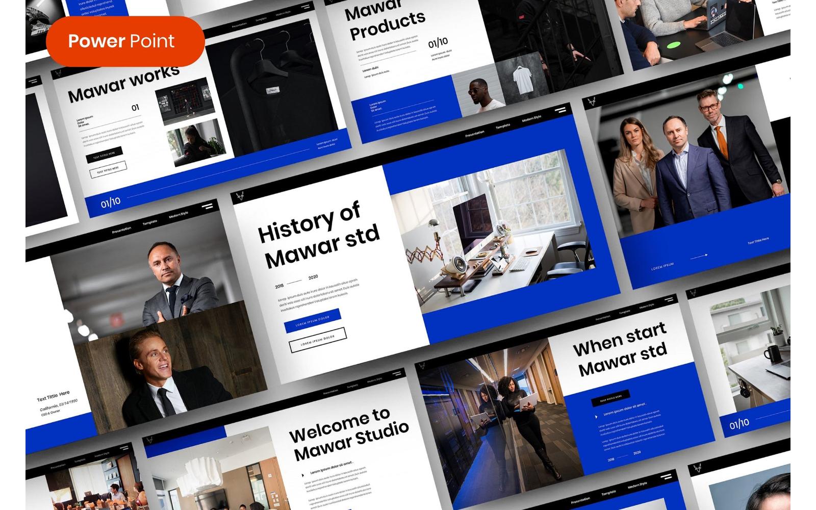 Mawar – Business PowerPoint Template