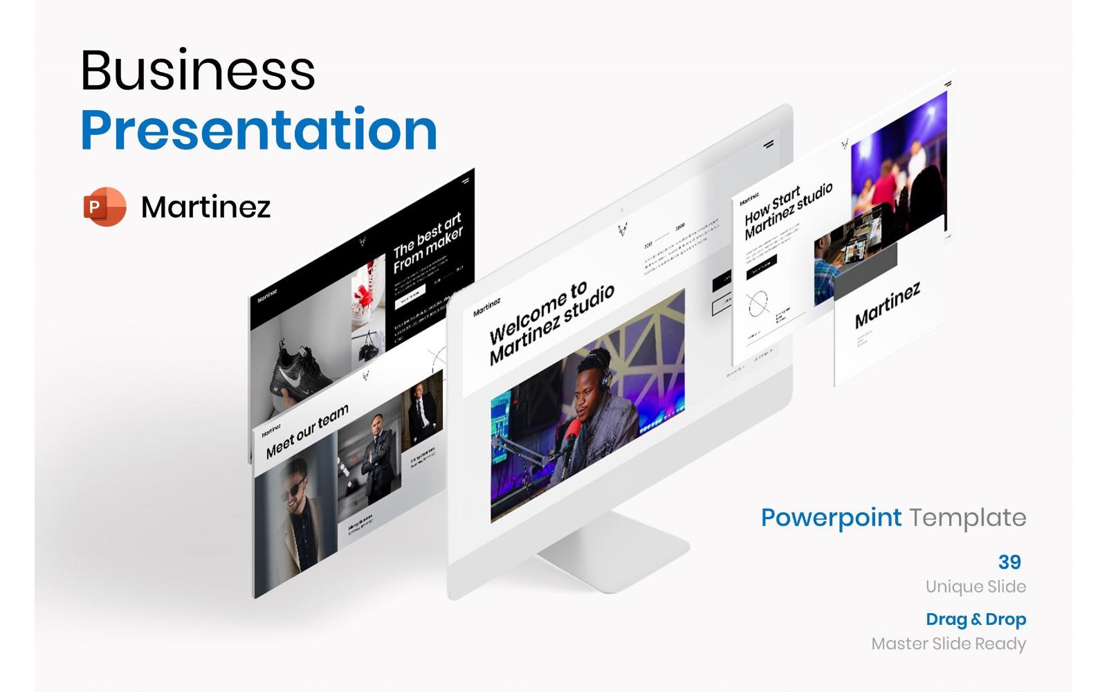 Martinez – Business PowerPoint Template