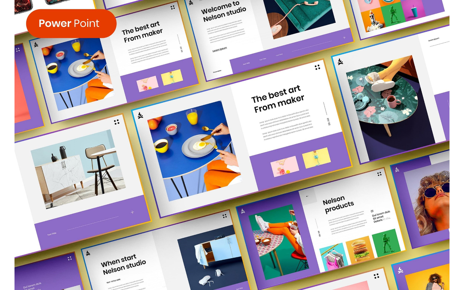 Nelson – Business PowerPoint Template
