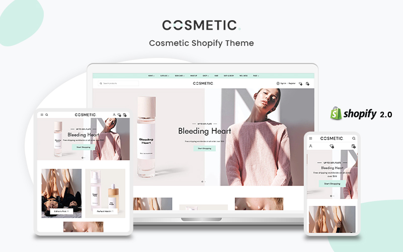 Cosmetic- The Beauty & Cosmetic Premium Shopify Theme