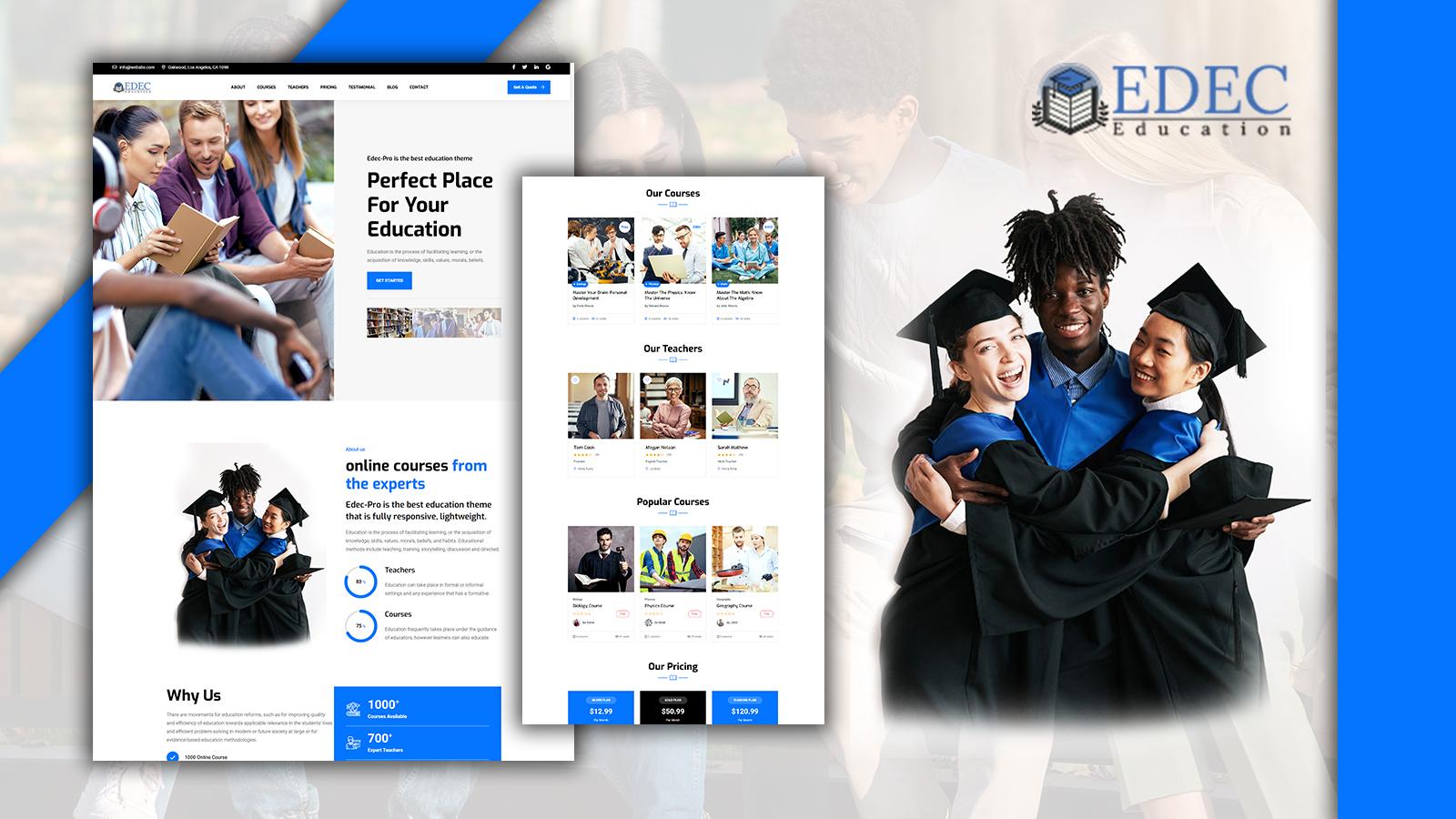 Jumboo-Edec Easy Education WordPress Theme