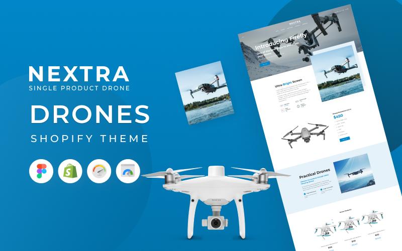 Nextra - Single Product eCommerce Shopify Theme, Electronics Store