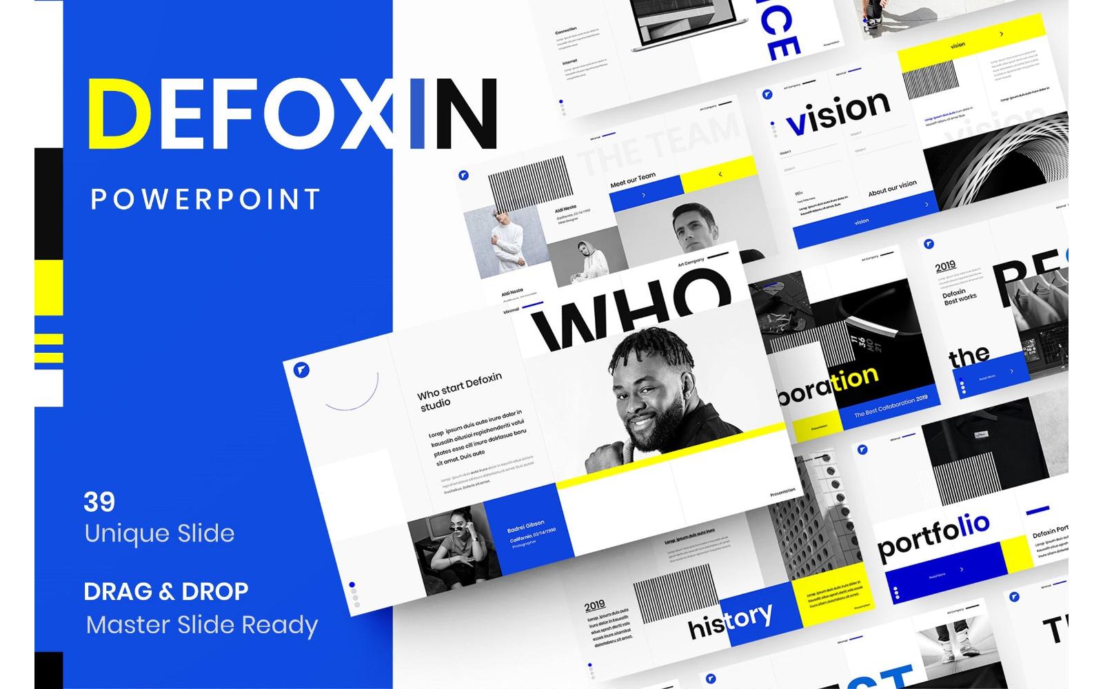Defoxin – Business PowerPoint Template