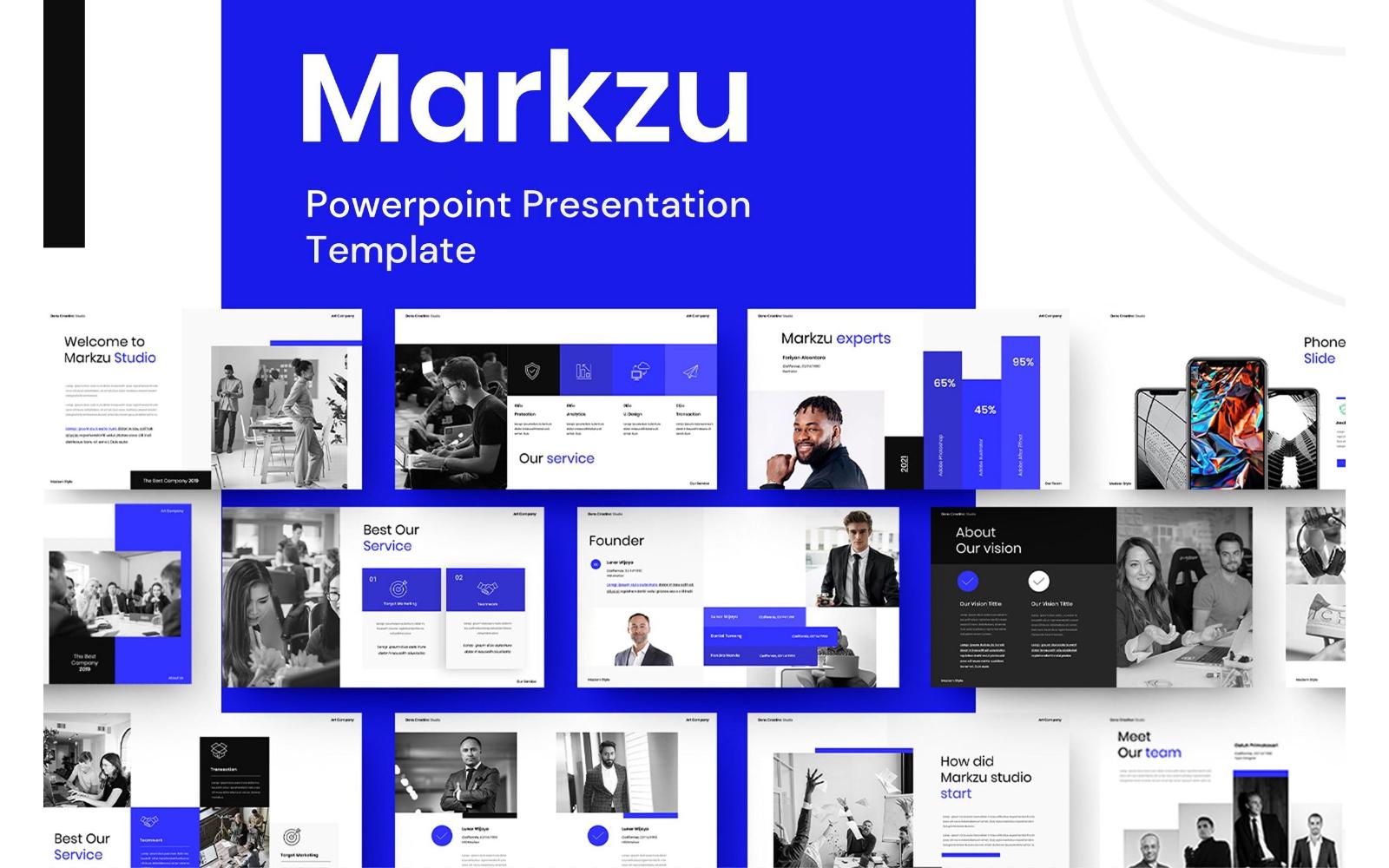 Markzu – Business PowerPoint Template