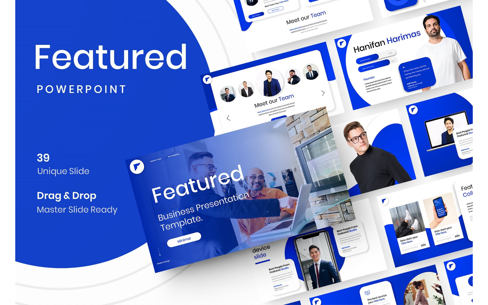 Featured – Business PowerPoint Template