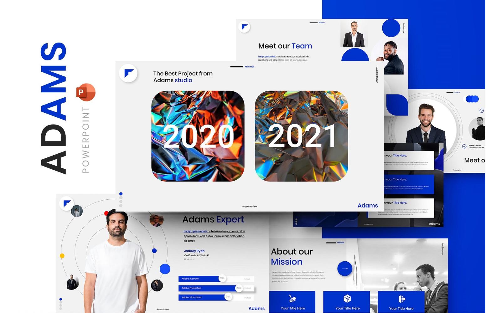 Adams – Business PowerPoint Template