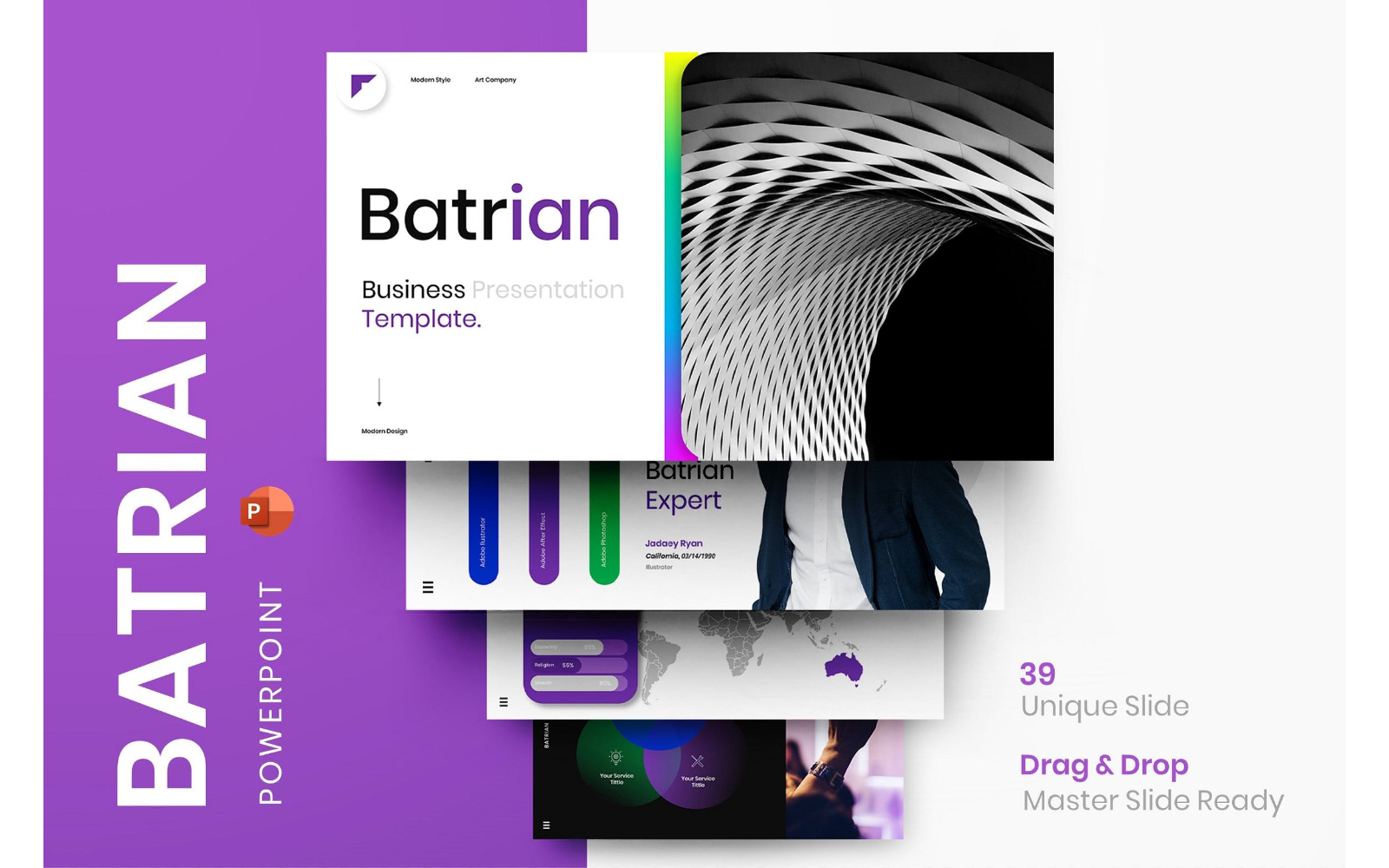 Batrian – Business PowerPoint Template