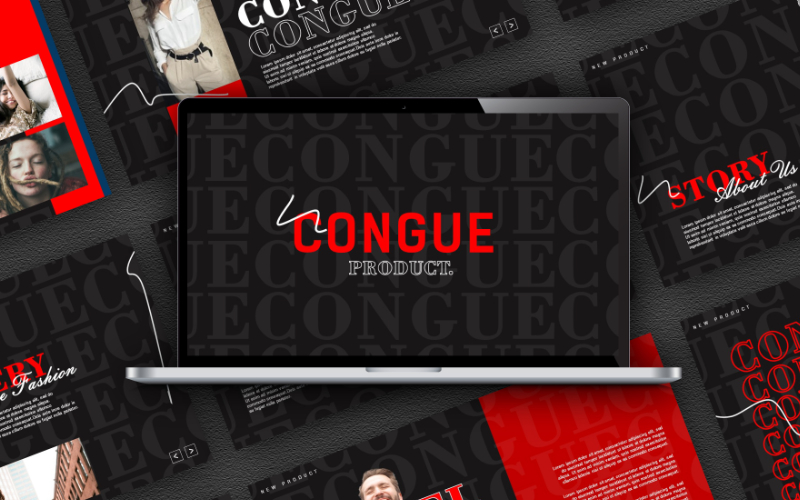 Congue Powerpoint Template