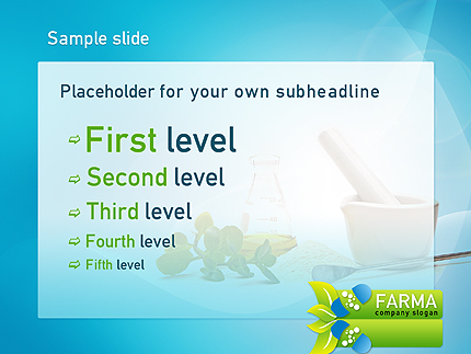 Widok strony slajdu