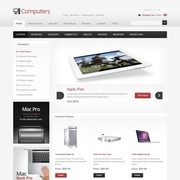 Website Template № 40112